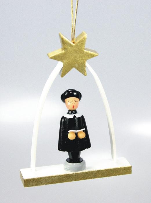 Kurrende Kurrendefigur Miniatur Seiffen Baumbehang Christbaumschmuck NEU 198/15