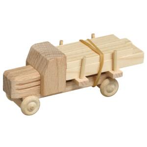 Lastauto mit Langholz natur