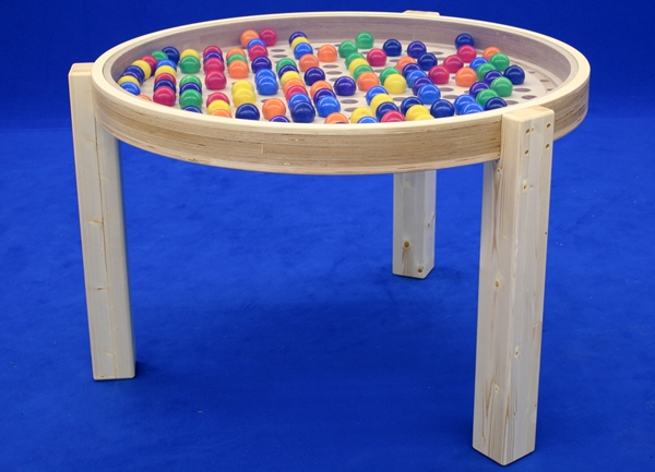 Holzspielzeug Kugeltisch groß LxBxH 120x80x150mm NEU