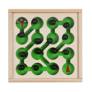 Holzspielzeug Geduldsspiel Parcuro LxBxH 225x215x40mm NEU