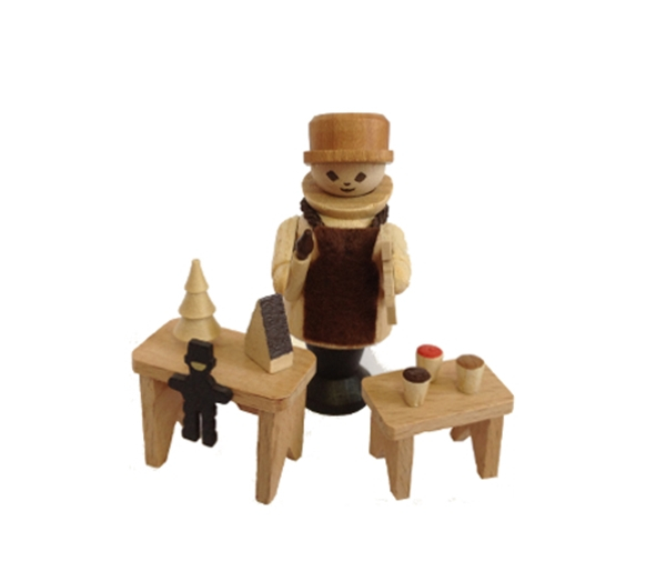 Spielzeugmacher 6 cm Figur Tischdeko Erzgebirge NEU