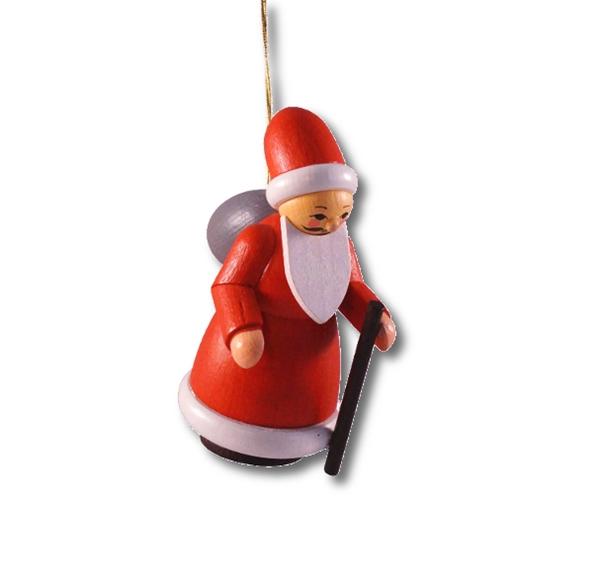 Baumbehang Weihnachtsmann 7,5 cm Christbaumschmuck Erzgebirge NEU