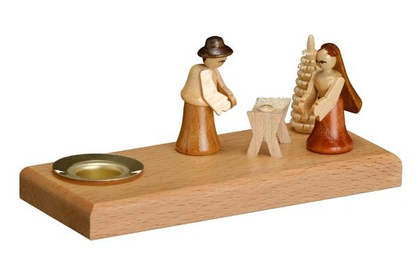 Kerzenhalter Christi Geburt Höhe ca. 5cm NEU