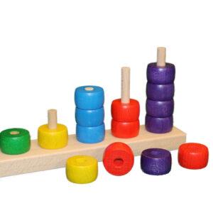 Lernspielzeug Rechenspiel Zählleiste BxHxT 22,5x12x5cm NEU