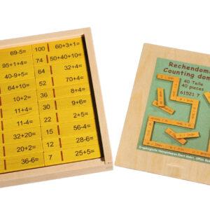 Lernspielzeug Rechendomino I BxHxT 20x16,5x3cm NEU