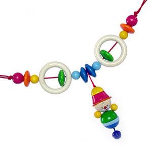 Babyspielzeug Kinderwagenkette Clown Felix BxLxH 520x50x180mm NEU