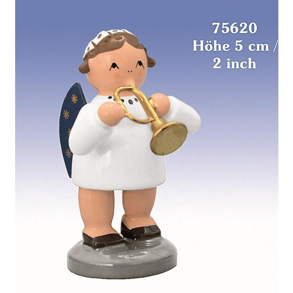 Engel mit Trompete 5 cm NEU