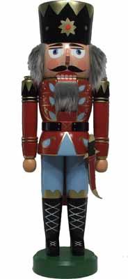 Nussknacker König rot 40cm NEU