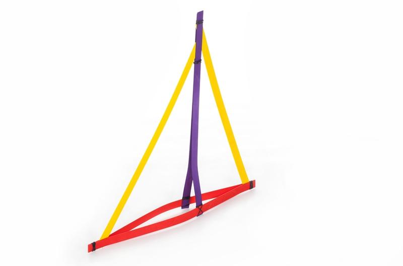 Holzspielzeug FlechtKunst 50cm Rot LxBxH 500x20x4mm NEU