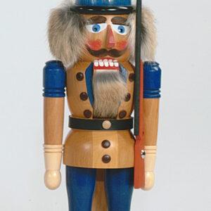 Nussknacker Polizist 38 cm Erzgebirge Seiffen NEU