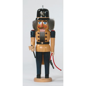 Nussknacker Feuerwehrmann 41 cm Erzgebirge Seiffen NEU
