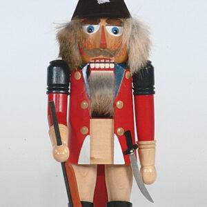 Nussknacker Englischer Offizier 40 cm Erzgebirge Seiffen NEU