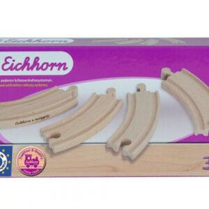 EICHHORN 100001410 - Bahn, kleine Kurvenschienen NEU