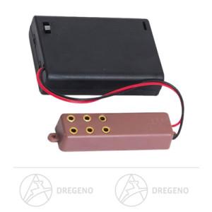 Ersatzteile & Bastelbedarf Batteriefach mit Steckerleiste und Schalter für 3x1,5V Batterien (AA) Breite x Höhe x Tiefe 5 cmx1,5 cmx7 cm NEU