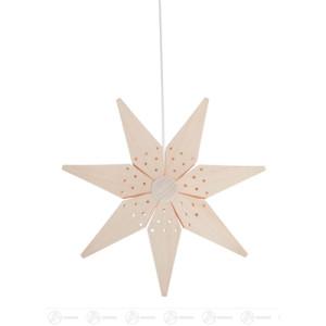 Fensterschmuck Weihnachtsstern, elektr. Beleuchtung Breite x Höhe ca 39 cmx39 cm NEU