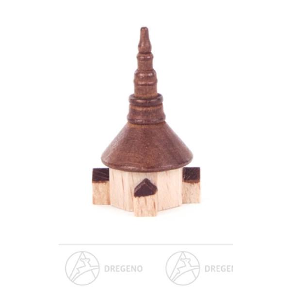 Miniatur Seiffener Kirche Breite x Höhe x Tiefe 2 cmx3 cmx2 cm NEU