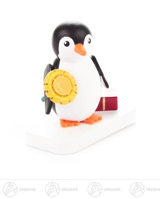 Miniatur Pinguin Gratulant Breite x Höhe x Tiefe 4 cmx4 cmx2 cm NEU