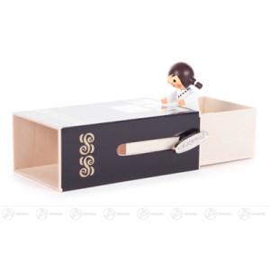 """Musikdose Musikdose """"Piano-Box"""" mit Mädchen Höhe ca 6 cm NEU"""