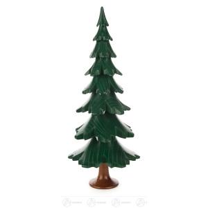 Baum grün lasiert Höhe = 24cm NEU