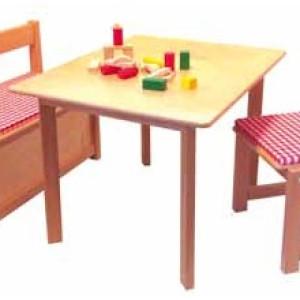 Holzmöbel Tisch Tisch: T/B/H 58,0cm/74cm/55cm NEU