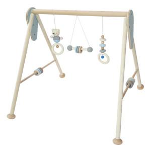 Babyspielzeug Babyspielgerät Blau – Natur BxLxH 620x570x545mm NEU