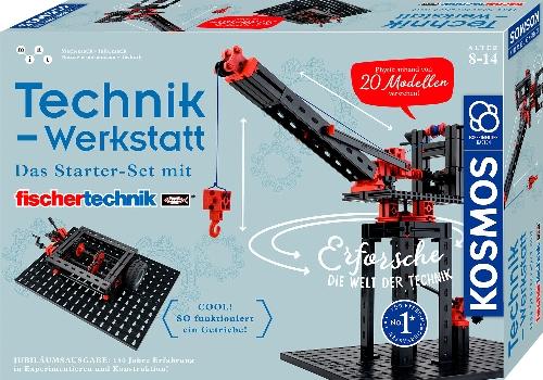 Experimentierkasten Technik-Werkstatt 422x295x79mm (LxBxH) NEU