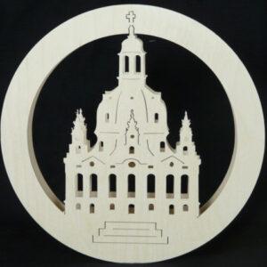 Beleuchtete Fensterbilder Frauenkirche Dresden B x H= 35x25cm NEU