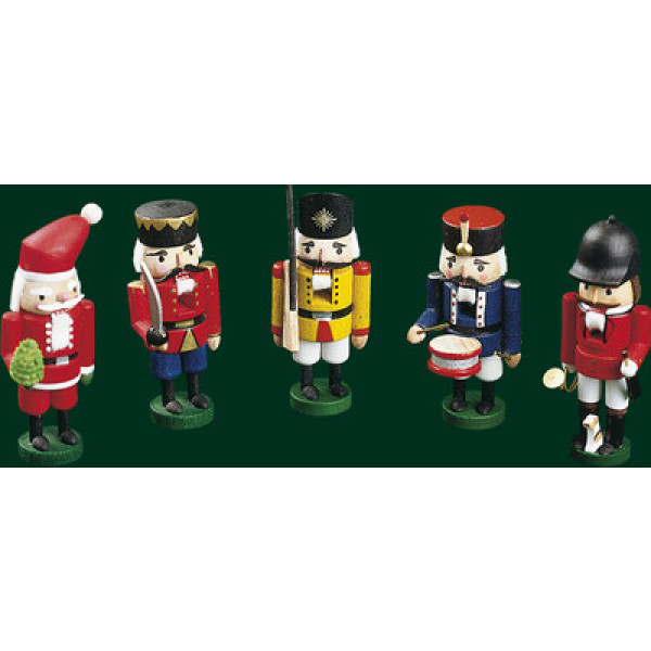 Nussknacker Nußknacker Nutcracker Weihnachtsmann Erzgebirge Weihnachten 14101