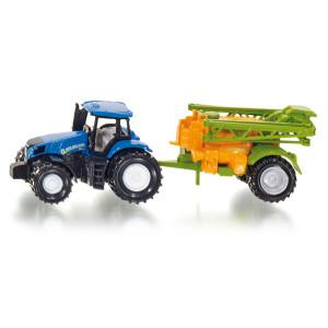 Siku 1668 Traktor mit Feldspritze NEU