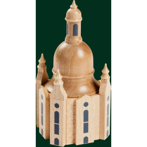 Figuren Dresdner Frauenkirche Erzgebirge Volkskunst Weihnachtsschmuck NEU 02869
