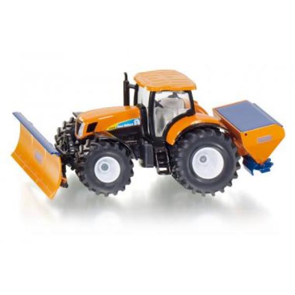 TOP Siku Super 2940 Traktor mit Räumschild und Salzstreuer 1:50 NEU TOP