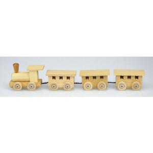 Miniatur Eisenbahn 18 cm Lokomotive Bahn Holz Zug Lok Miniatur Seiffen NEU 31/5N