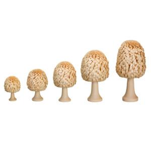 Ringelbaum Laubbaum mit Stamm natur Holzbaum H= 3cm NEU
