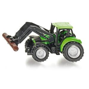 1380 Siku Super Traktor mit Baumstammgreifer Bauernhof NEU TOP