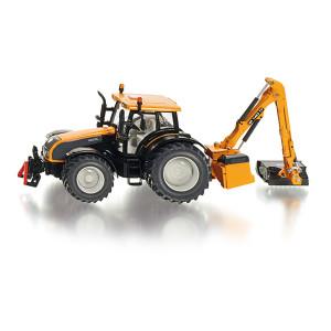 3659 Siku Farmer Traktor mit Kuhn Böschungsmähwerk 1:32 Bauernhof NEU TOP