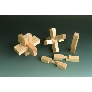 Holzspielzeug Gordischer Knoten BxH 8x8 cm NEU