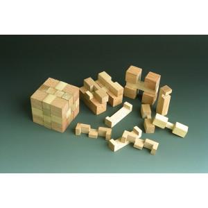Holzspielzeug Wunderwürfel BxH 4x4 cm NEU