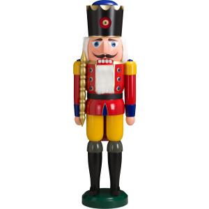 Weihnachtsdekoration Nußknacker König rot HxBxT = 100x30x24cm NEU