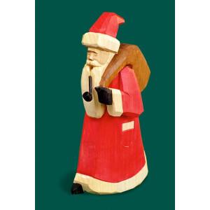 Räuchermann Weihnachtsmann groß geschnitzt