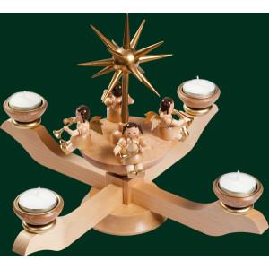Adventsleuchter Leuchter Kerzenhalter Weihnachtsleuchter NEU Erzgebirge 00053