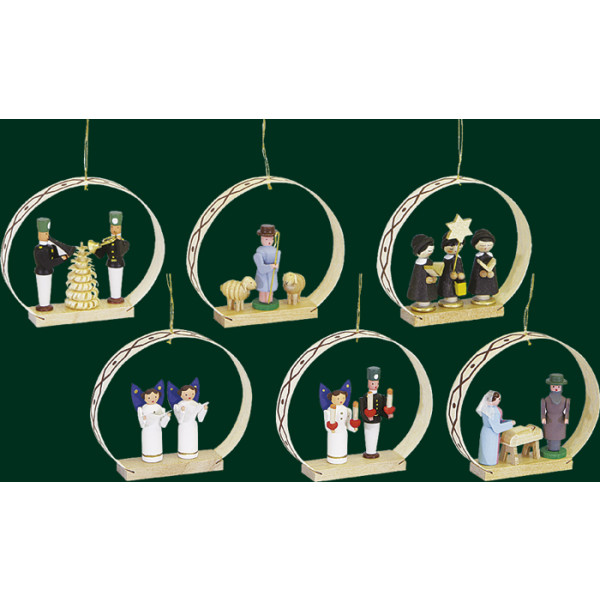 Seiffener Weihnacht Christbaumschmuck Baumbehang Weihnachtsbaum Behang NEU 01338