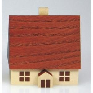 Haus 5 cm natur Weihnachtshaus Holzhaus Deko Tischschmuck 204/127 HN