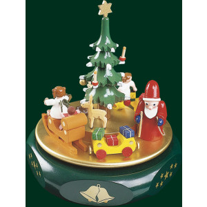 Spieluhr Spieldose Weihnachtsträume 18er Spielwerk Seiffen Erzgebirge NEU 08850
