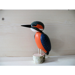 Vogel Eisvogel 9 cm NEU