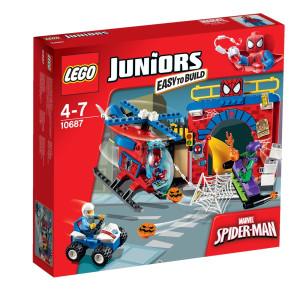 10687 LEGO® Juniors Spider-Man™ Versteck NEU