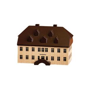 alte Schule 6,2 cm Tischdeko Erzgebirge NEU