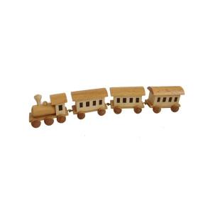 Eisenbahn 3 cm Figur Tischdeko Erzgebirge NEU