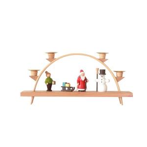 Schwibbogen Weihnachten 13 cm Leuchterbogen Erzgebirge NEU