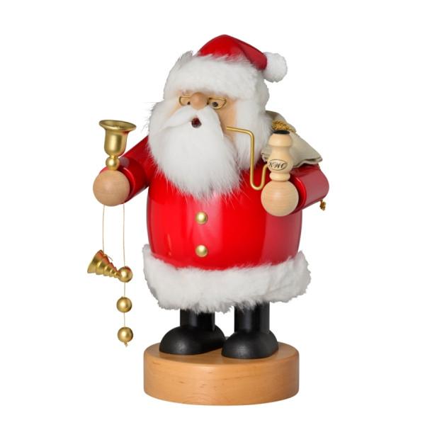 Räucherfigur Weihnachtsmann, groß 31 cm NEU