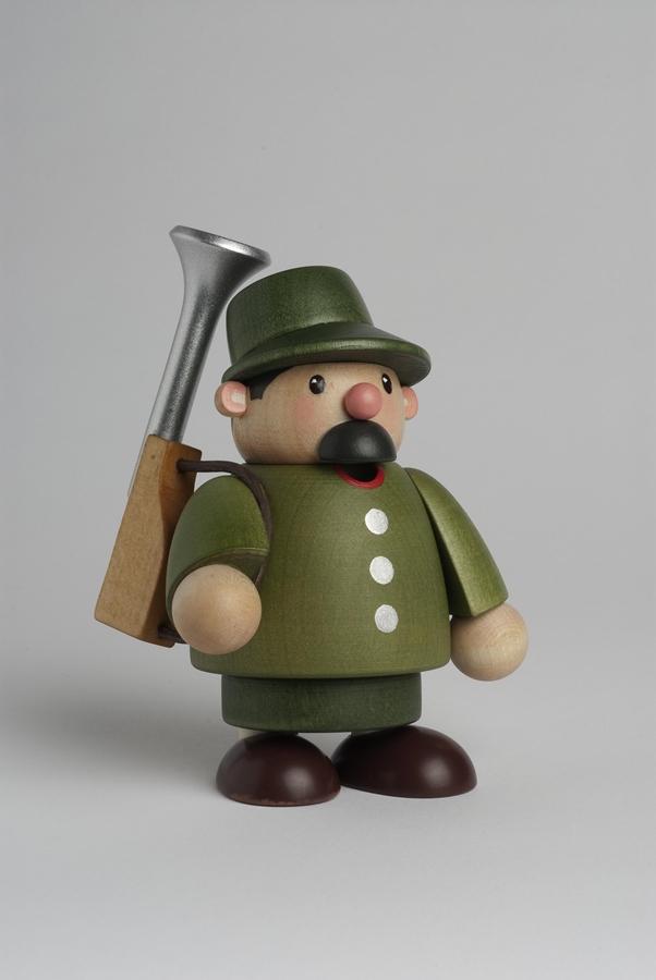 Räucherfigur Förster mini 10 cm NEU